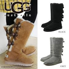 ugg womens boots bailey bow kate88 rakuten global market pre order ugg w bailey bow