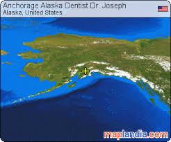 us map anchorage alaska anchorage alaska dentist dr joseph alaska satellite map