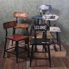 Office Bar Stool Chair Country Old Retro Wood Wrought Iron Chairs And Coffee Tables And