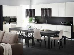 decoration cuisine noir et blanc emejing cuisine blanc et noir pictures design trends 2017