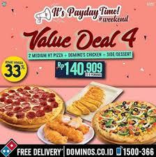 domino pizza tangerang selatan value deal 4 promo from domino s pizza gotomalls