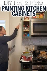 diy paint kitchen cabinets how to paint kitchen cabinets tips for diy kitchen cabinet