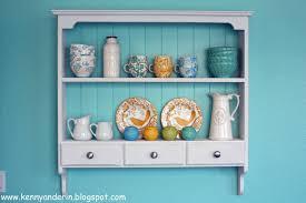 kitchen shelf re do the sunny side up blog