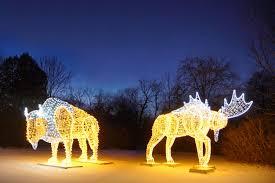 christmas lights in niagara falls ontario leblanc illuminations canada