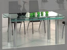 modern glass kitchen table kitchen 81 small modern glass dining table with lucite bases and