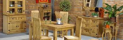 Mexican Living Room Furniture Dining Room Corona Mexican Pine Dining Room Furniture