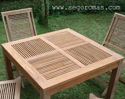 teak patio dining table wood patio table and chairs