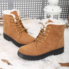 ladies ankle motorcycle boots snow boots winter ankle boots women shoes plus size shoes 2016