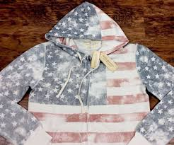 American Flag Hoodies For Men Denim Supply Ralph Lauren Men Vintage Wash American Flag Full Zip