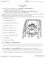 punctuation worksheets 3 and 3b