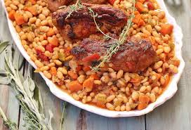 country style ribs and great northern beans recipe northern