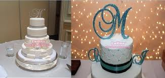 bling cake toppers rhinestone cake toppers holy communion topper buy letter c