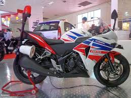 honda cbr old model honda cbr 250r police edition showcased team bhp