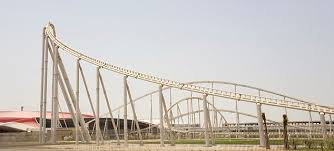 roller coaster abu dhabi speed opens formula one theme park in abu dhabi daily mail