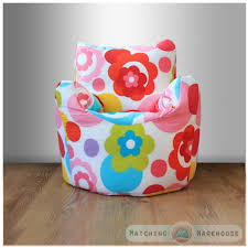 childrens character filled beanbag kids bean bag chair seat