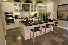 kitchen designs for every style black countertops gray floor