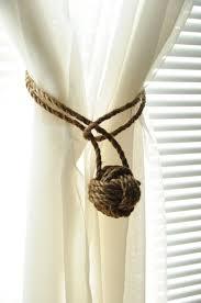 nautical decor curtain tie backs this is per pair