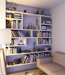 floating built in bookshelves hampstead