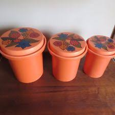plastic kitchen canister sets ebay