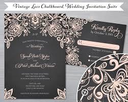 chalkboard wedding invitations compass studio chalkboard vintage lace