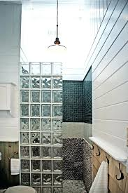 glass block bathroom ideas glass block bathroom ideas sustainablepals org