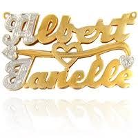name plate jewelry name plates ridgewood ny