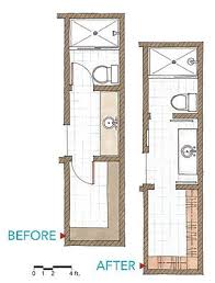 Small Bathroom Design Plans Best 25 Narrow Bathroom Ideas On Pinterest Small Narrow