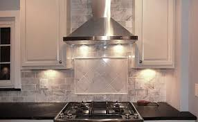 carrara marble subway tile kitchen backsplash white carrara marble subway tile backsplash stainless steel