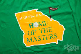 vintage 90s augusta ga home of the masters golf t shirt