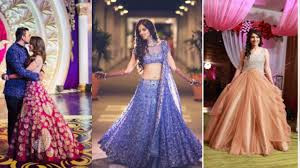 reception dresses lehenga designs for indian bride to be