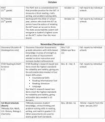 hcs assessment calendar haywood county schools