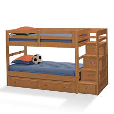 Bunk Bed Storage Stairs Bunk Beds With Storage Space In Top Storage Stairs Home Design