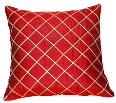 diamond throw pillow red pillow cover throw pillow cover red