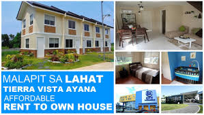 pagibig rent to own houses in dasmariñas cavite tierra vista ayana