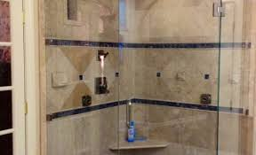 Shower Stall As Partitions Shower Magnificent Custom Glass Shower Enclosure Kits Beloved