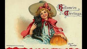 vintage halloween postcards youtube