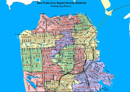 San Francisco On Map City And County Of San Francisco Sf District Maps U0026 Data