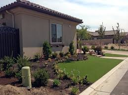 fake grass clermont florida landscape front yard