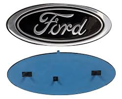 Old Ford Truck Emblems - amazon com 2005 2014 ford f150 black oval 9