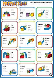 of place and movement worksheet