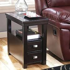side table leick laurent narrow chairside end table narrow chair