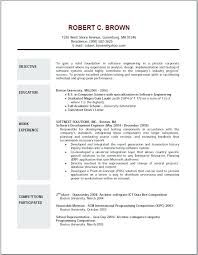 Outstanding Resume Templates Cna Resume Sample No Experience Resume Template Free Sample Resume