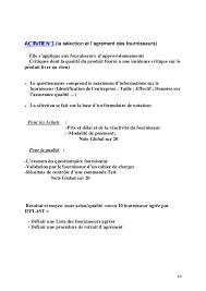 lettre de demande de fourniture de bureau mesure des performances dans la fonction achat