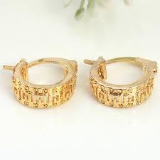 trendy gold earrings trendy gold souk dubai manufacturer diamond wedding dress earrings