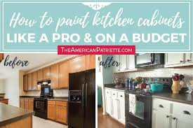 best paint to redo kitchen cabinets step by step how to paint kitchen cabinets like a pro and