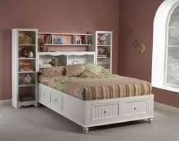 Zayley Twin Bedroom Set Bookcase Bed Ira Design