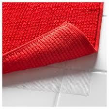 Red Bath Rug Badaren Bath Mat Ikea