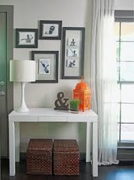 white entryway table ideas how to make fog white entryway table