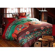 amazon com cliab boho bedding bohemian bedding exotic bedding