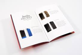 luxury mobile phones brochure design for savelli by palmiero design